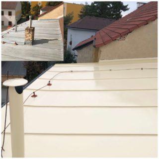 Nátěr pozinkované střechy