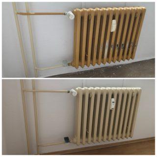 Náter radiatoru